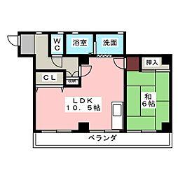 近藤ビル[2階]の間取り