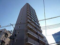 レジュールアッシュ大阪城北[8階]の外観
