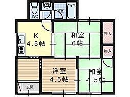 東海道・山陽本線 摂津富田駅 バス6分 岡本西下車 徒歩3分