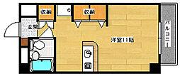 広島県安芸郡府中町宮の町5丁目の賃貸マンションの間取り
