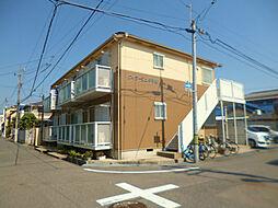 兵庫県西宮市甲子園町の賃貸アパートの外観