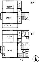[一戸建] 埼玉県さいたま市大宮区三橋1丁目 の賃貸【/】の間取り