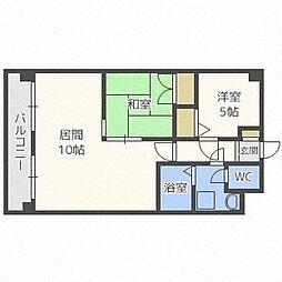 第88松井ビル[403号室]の間取り