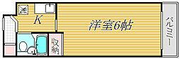 ライオンズマンション錦糸町第8[6階]の間取り