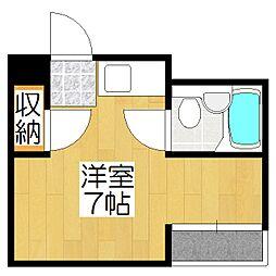 グリーンマンション[1階]の間取り