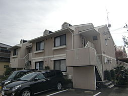 京都府京都市西京区樫原山路の賃貸アパートの外観