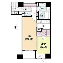 プライムアーバン堺筋本町(旧:アーバンステージ堺筋本町)[0404号室]の間取り