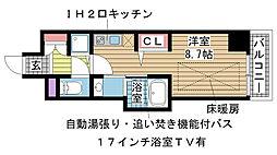 J-cube KOBE[501号室]の間取り