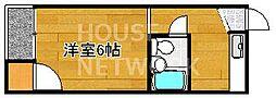 ハイツメリット[203号室号室]の間取り
