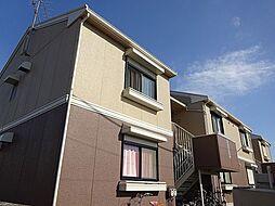 埼玉県上尾市大字大谷本郷の賃貸アパートの外観