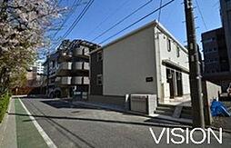 東京都板橋区高島平1丁目の賃貸アパートの外観