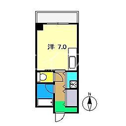 アルファガーデン本町[6階]の間取り