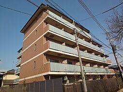 プラリア京都竹田マンション[1階]の外観