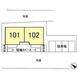 [テラスハウス] 埼玉県さいたま市大宮区天沼町 の賃貸【/】の外観