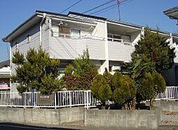 千葉県流山市東初石の賃貸アパートの外観