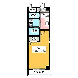 マ メゾン アイ[1階]の間取り