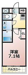 アーバンフラッツ新大阪I[10階]の間取り
