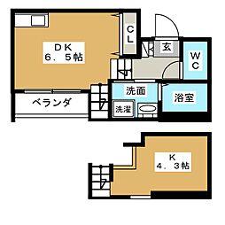 stage新栄[2階]の間取り