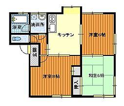 永田ハイツ[B棟103号室]の外観