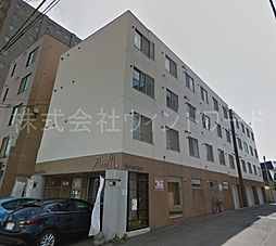 北海道札幌市中央区南八条西15丁目の賃貸マンションの外観