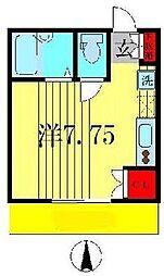 パティオスクエア小金原 A棟[2階]の間取り
