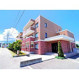 長野県安曇野市穂高の賃貸マンションの外観