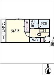 すぎハウス[2階]の間取り