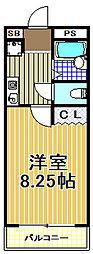ステージ21[4階]の間取り