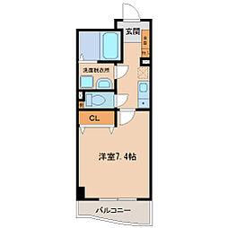 神戸アスタカレッジハイツ[9階]の間取り