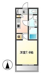 meLiV鶴舞[13階]の間取り