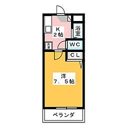 サンコーポ・ヒロ[1階]の間取り