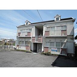 岐阜県羽島市福寿町平方8丁目の賃貸アパートの外観