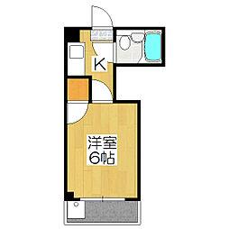 N.N.HOUSE[202号室]の間取り