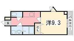 パーソナル飯田12[102号室]の間取り