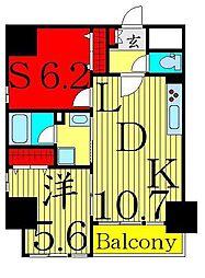 セレーノ六町[7階]の間取り
