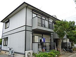 千葉県松戸市栄町4丁目の賃貸アパートの外観