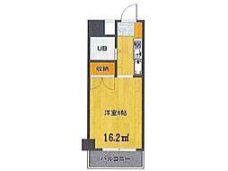 Uトピア高幡不動[4階]の間取り