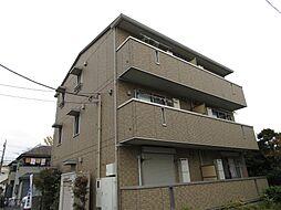 千葉県松戸市八ケ崎3丁目の賃貸アパートの外観