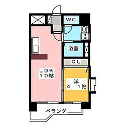 Residence栴壇[2階]の間取り