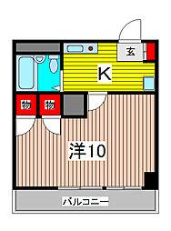 ファーストメイプル[5階]の間取り
