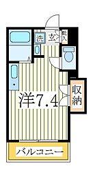 ペルレシュロスPartVIII[2階]の間取り