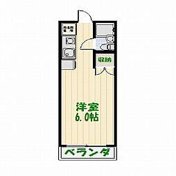 ジョイフル亀有[0101号室]の間取り