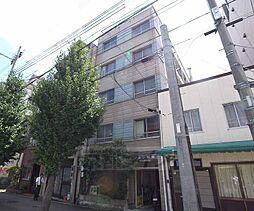 京都府京都市中京区聚楽廻り松下町の賃貸マンションの外観