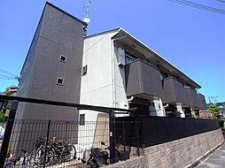 大阪府四條畷市岡山東1丁目の賃貸アパートの外観