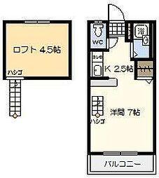 メゾン・クレール[305号室]の間取り