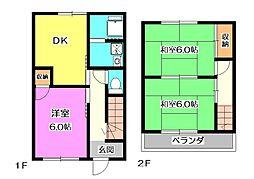 [一戸建] 埼玉県新座市野火止3丁目 の賃貸【/】の間取り