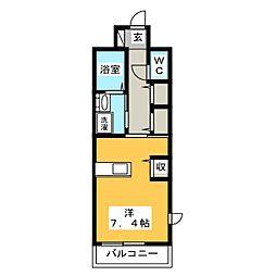 Mode Eight II[1階]の間取り