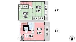 関谷マンション[1階]の間取り