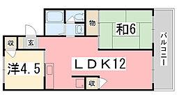 センチュリー7 A棟[101号室]の間取り