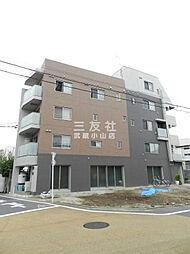 東京都目黒区目黒本町5丁目の賃貸マンションの外観